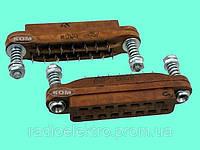 Соединитель РГ1Н-2-25 розетка