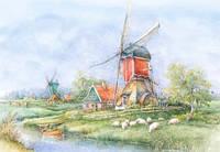 Пазлы 1000 Ландшафты Голландии
