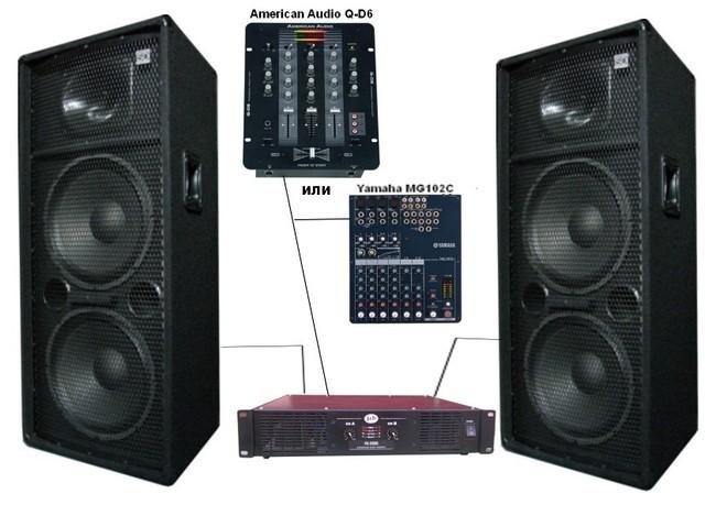Купить акустические системы в Харькове (комплект 2кВт) - DiscoShop в  Харькове 7d7c7d6d522