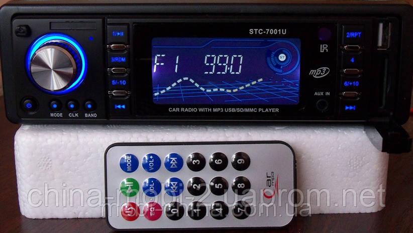 Автомагнитола STC - 7001U без cd,  mp3 /sd /usb
