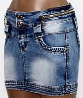 Юбка джинсовая для женщин р. 42   арт. 88099 Турция