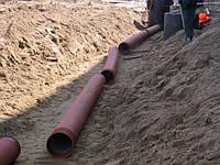 Хозбытканализация, ливнеотводы, проектировнание и строительство наружной канализации