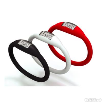 Турмалиновые часы - браслет силиконовые Вековой Восток
