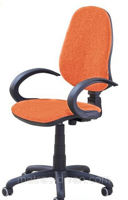 Кресло Поло 50/АМФ-5 Розана-105 оранжевый микрофибра