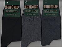 Носки подростковые демисезонные х/б с лайкрой Житомир, 36-40 размер, ассорти, 1851