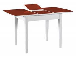 Стол белое/красное стекло (белый) 940(+300)*760*750 в Одессе
