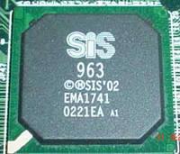 Микросхема SIS 963 южный мост для ноутбука