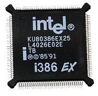 Микросхема INTEL KU80386EXTB25 для ноутбука