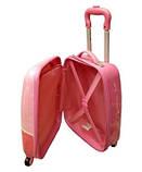 Дитячий пластиковий чемодан Кітті, фото 2