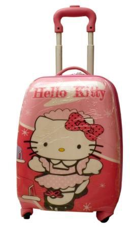 Дитячий пластиковий чемодан Кітті