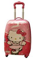 Детский пластиковый чемодан Китти