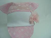 Косынка летняя розовая