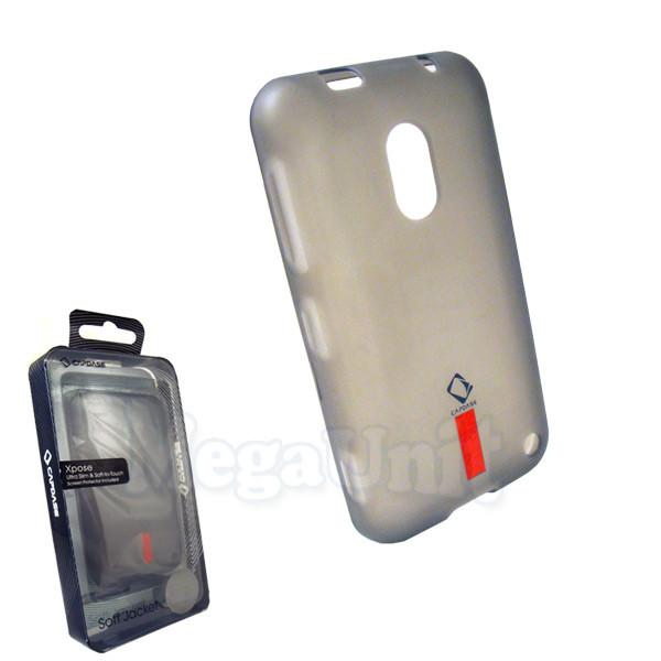 Capdase. Nokia Lumia 620. Силиконовый чехол (+пленка)
