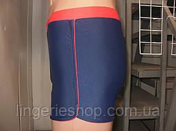 Плавки-шорты мужские Atlantiс синий с красным