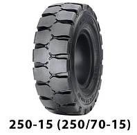 Шина цільнолита 250-15 (250/70-15)    marangoni eltor3   шина цельнолитая.
