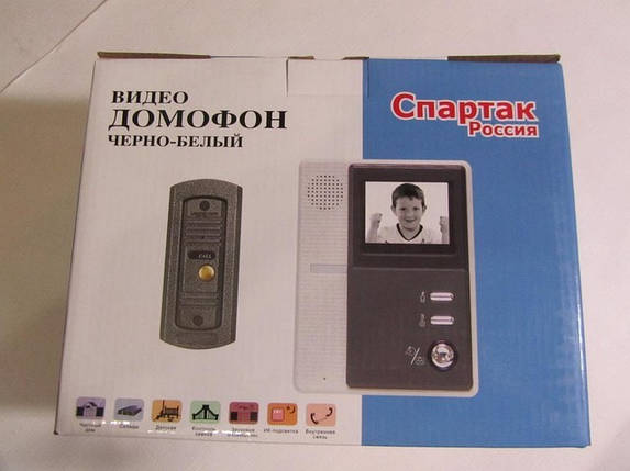 Домофон Спартак Россия. Купить домофон., фото 2