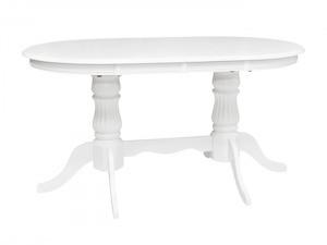 Обеденный раскладной стол из натурального дерева