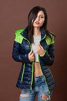 Куртка  молодежная приталенного силуэта