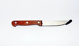 Нож с пластиковой ручкой 200мм