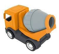 Детская машинка- бетономешалка Wader (Вадер) «Tech Truck» 35360.