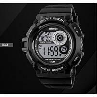 Часы наручные спортивные Sport Watch Skmei 1222 Black