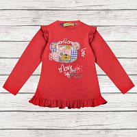 """Джемпер для девочки """"Worldone"""", бордовый, размер 92, 98, 104, 110"""