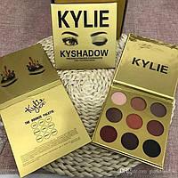 Палетка теней Kylie Cosmetics Kyshadow The Burgundy Palette (gold)