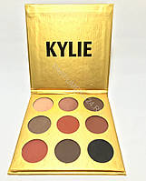 Палетка теней Kylie Cosmetics Kyshadow The Burgundy Palette (gold)