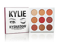 Тени Kylie Cosmetics Kyshadow The Burgundy Palette (silver)