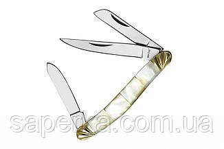 Нож складной универсальный с перламутровой рукояткой Grand Way 4216 YST, фото 2