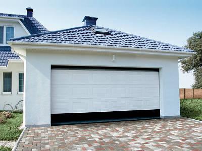 Автоматические металлические гаражные ворота