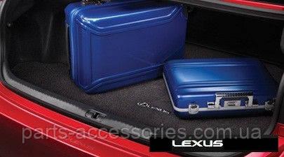 Lexus RC RC350 RCF 2015-16 велюровый коврик в багажник Новый Оригинал