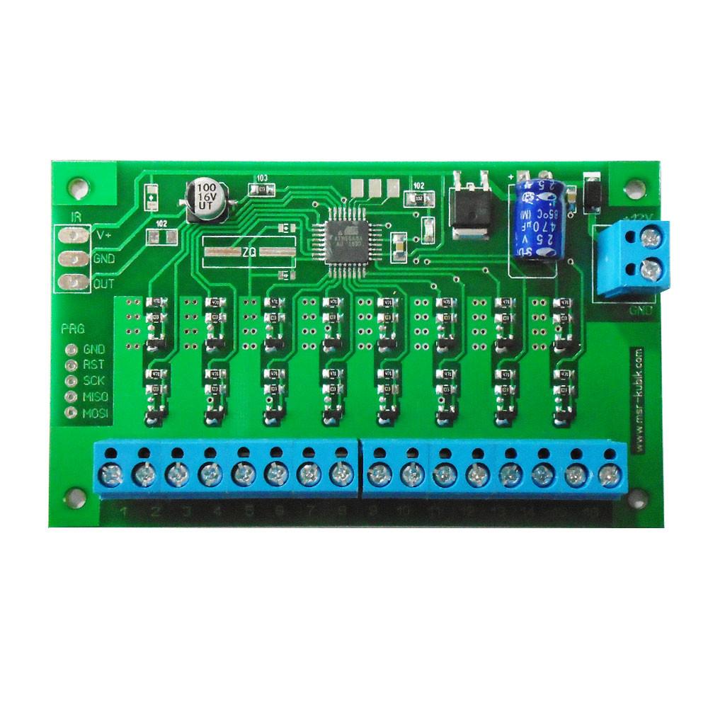 Плата контролера світлодинамічних ефектів 16 каналів
