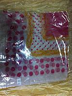 Шейный шифоновый платок размер 62 см