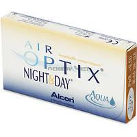 Линзы на месяц для глаз Air Optix Night & Day Aqua (3+1) Экономия 341грн