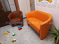 """Офисный диван  """"Клео""""  двухместный от производителя ! Мягкая мебель."""
