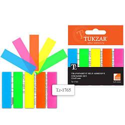 Набор блоков с липким слоем на пластик.подложке, 1,2х4,3см-5шт  TZ 1765 (192)