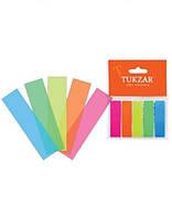 Набор стикеров-разделителей: 5 блоков по 25 лист (44*12мм)(216/36шт/ящ), TZ 3432