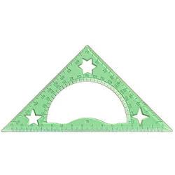 Треугольник прозрачный 15 см