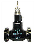 CONTROL VALVES - Series D Globe and Series DA Angle Valves