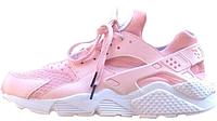 Женские кроссовки Nike Air Huarache (найк хуарачи) розовые