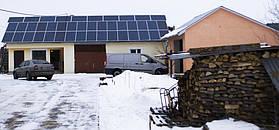 Сонячна мережева електростанція 10 кВт*год, м. Буськ, Львівська обл. 2