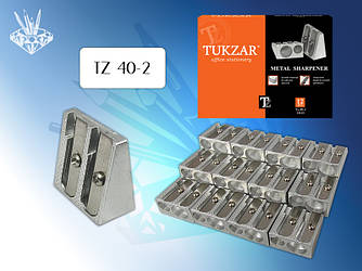 Точилка металл., двойная  TZ 40-2 (384)