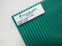 Поликарбонат сотовый TitanPlast Т3 10 мм 2,1х6м зеленый