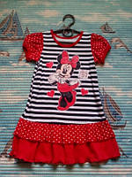 """Платье для девочки""""Мики""""раз-122(64)."""