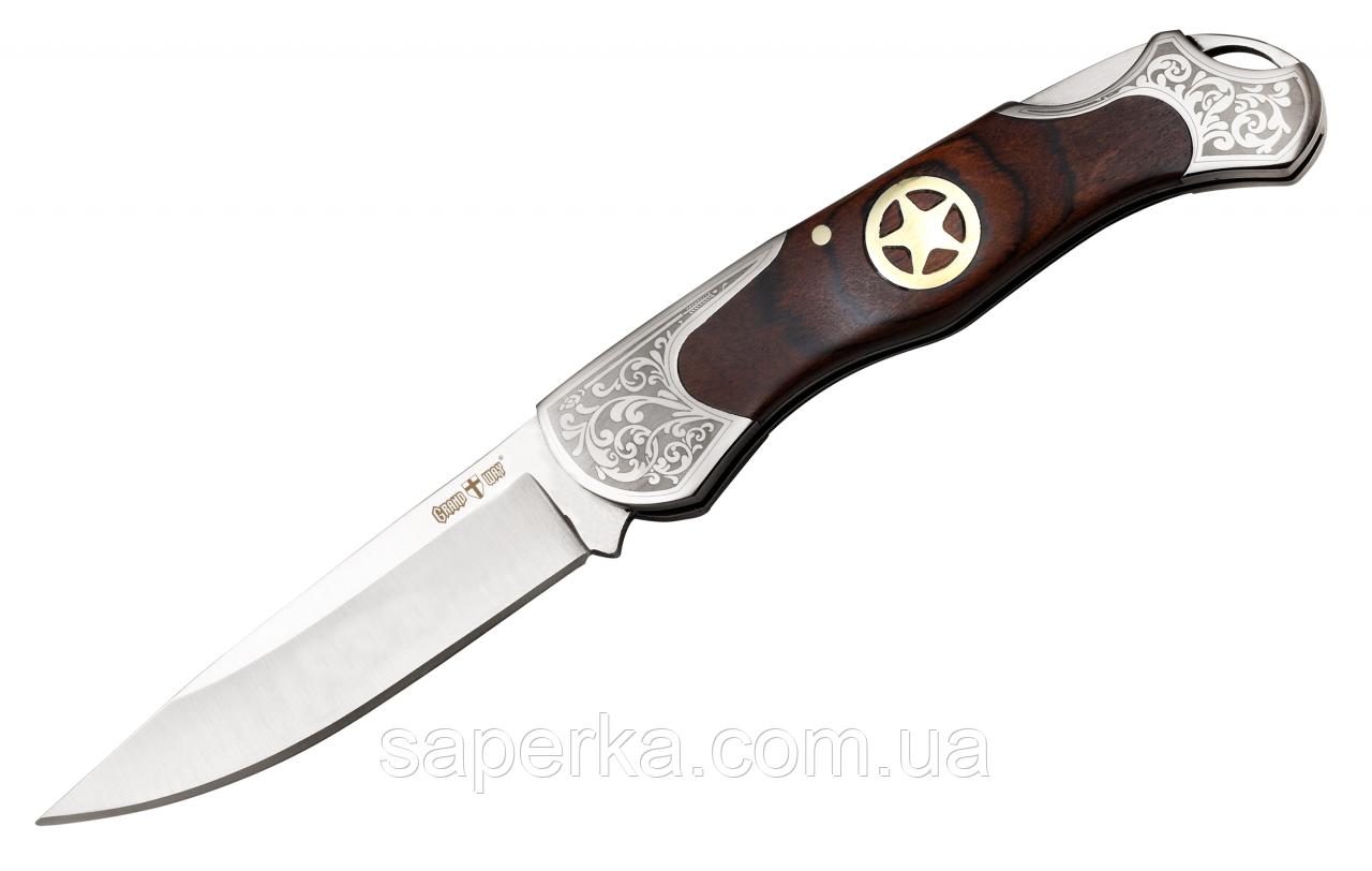 Нож складной туристический Grand Way 5328 K