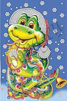 Схема для вышивки бисером Веселая Змейка КМР 5007