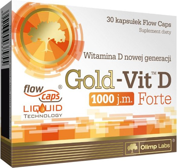 OLIMP Gold Vit D Forte 30 caps
