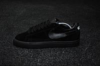 "Кроссовки Nike Blazer Comme des Garçons ""All Black"""