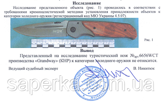 Нож складной многофункциональный Grand Way 6656 WCT, фото 3